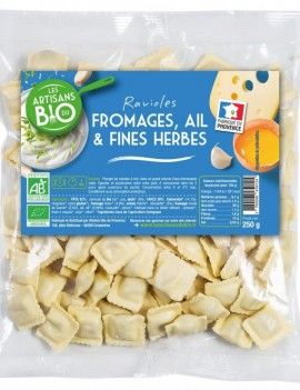 Ravioles Fromages, Ail & Fines Herbes (Sachet 250g)