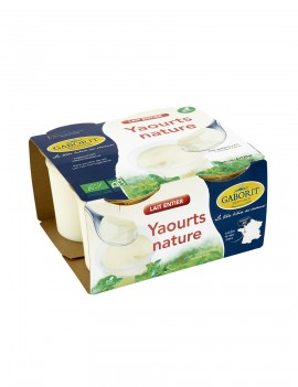 YAOURT ENTIER NATURE (4x125g)